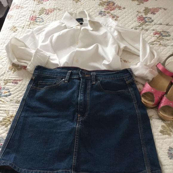 4d82520b9e Levi's Skirts | Classic Levis Red Tag Mini Skirt | Poshmark
